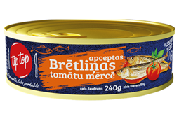 CANNED SPRATS FRIED IN TOMATOE SAUCE EO