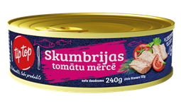 SKUMBRIJA TOMĀTU MERCĒ TIP TOP